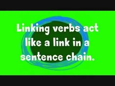 """Linking Verbs"" Song - YouTube"