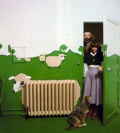 Sheep radiator. Via Raneytown.