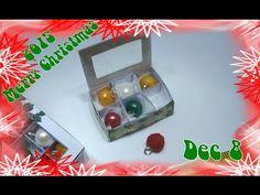 Miniature Christmas Ornaments Tutorial