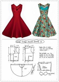 DIY pencil skirt: how to make a pencil skirt pattern Lace Dress Pattern, Dress Sewing Patterns, Doll Clothes Patterns, Sewing Patterns Free, Sewing Clothes, Clothing Patterns, Fashion Sewing, Diy Fashion, Ideias Fashion