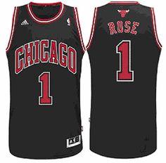 cbb9315241d Amazon.com : Chicago Bulls Derrick Rose # 1 NBA Youth Big Boys Alternate  Replica Jersey - Black (Small (8)) : Sports & Outdoors
