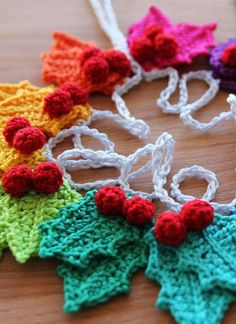 18 Crochet Ornaments
