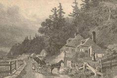 Sur la route de Sillery ( Maison des Jesuites vers 1882-1884