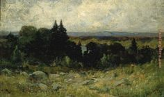 Image from http://www.paintinghere.org/UploadPic/Edward%20Mitchell%20Bannister/big/landscape_%20fields%20with%20rocks%20and%20trees.jpg.