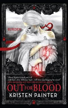 Best Urban Fantasy Cover Nominee - Out for Blood by Kristen Painter - Cover by Nekro