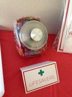 Medical Dr. / Nurse Graduation Party Ideas & Suggestions for 2014 -  Life Savers – Medical Dr Nursing Graduation Party