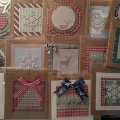 """Getting ahead of myself #Christmas #Christmascards #smallcards #busy"""