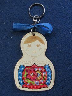Russian Doll key chain