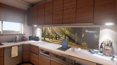 Tech Corner: Whirlpool's Futuristic and Interactive Kitchen Stovetop