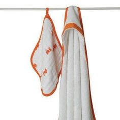 Aden + Anais Splish Splash Hooded Towel and Washcloth Set