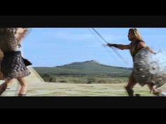 """Eric Bana and Brad Pitt in """"Troy."""" One of the best movie fight scenes ever!"""