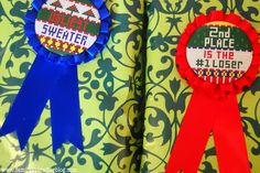 Ugly sweater award  →follow← ❄☃ Ugly Xmas Sweater Party ❄☃  @ ★☆Danielle ✶ Beasy☆★