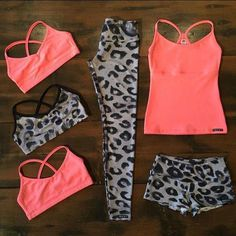 07196f751c6 Women s Workout clothes Fitness Apparel Sport Bras Leggings Running…