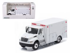 diecastmodelswholesale - 2013 International Durastar Ambulance White Hobby Exclusive 1/64 Diecast Model by Greenlight, $9.99 (http://www.diecastmodelswholesale.com/2013-international-durastar-ambulance-white-hobby-exclusive-1-64-diecast-model-by-greenlight/)
