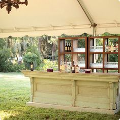 Ooh! Events Rentals Old Country Store Bar | Creative wedding planning and event rentals in Charleston, SC and Beaufort, Bluffton, Savannah, Debordieu, Litchfield