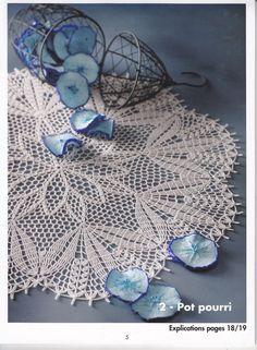 Crochet Creations №68精美餐巾 - 紫苏 - 紫苏的博客