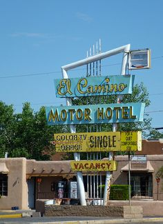 Albuquerque, NM El Camino Motor Hotel | Flickr - Photo Sharing!