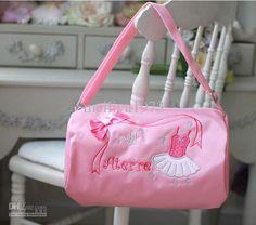 Pink girl ballet bag