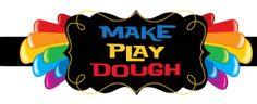 Make Play Dough: homemade recipes for fun!