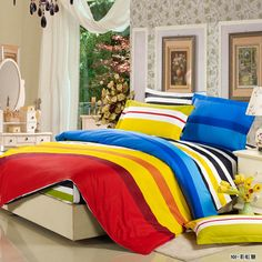2017 New StyleBedding sets duvet doona quilt fitted cover ned sheet cotton king queen full twin size bedclothes linens Cheap Bedding Sets, King Bedding Sets, Flat Sheets, Bed Sheets, Bedclothes, King Size Mattress, Textiles, Bed Linen Sets, Mattress Covers