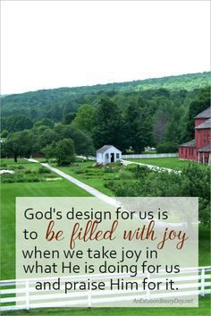 God's design for us