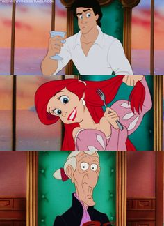 The Little Mermaid.  Know this movie by heart.  My little sissy used to make me watch it EVERYday after I got home from school.