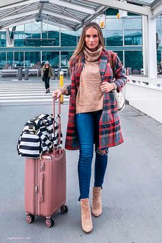 Vancouver International Airport. Travel outfit for fall season. Angela Lanter Instagram. Latest Fashion Trends LATEST FASHION TRENDS | IN.PINTEREST.COM ENTERTAINMENT #EDUCRATSWEB