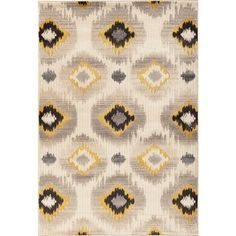 Christopher Knight Home Paris Citron Micah Pearl Area Rug (7'10 x 9'10) - $280