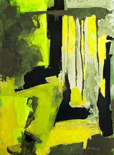 "Saatchi Art Artist Dorothee Winkler; Painting, ""The Gorge"" #art"