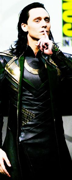 Loki - Tom Hiddleston ....the physical embodiment of sexiness..........