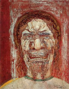 Photo: 1891 James Ensor L'Homme de douleur The Man of pain. James Ensor, Organic Art, Masks Art, Portraits, Paul Klee, Museum Of Fine Arts, Baron, Painting & Drawing, Art History