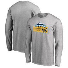 Denver Nuggets Team Essential Long Sleeve T-Shirt - Heather Gray - $29.99