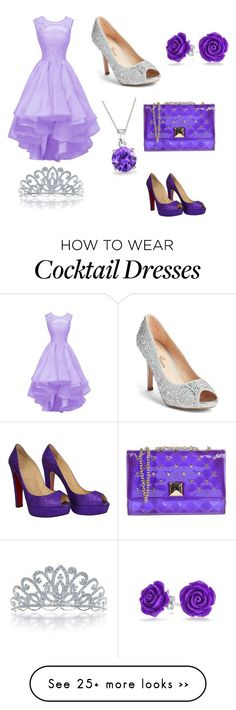 """Prom queen"" by classybird7 on Polyvore featuring Lauren Lorraine, Hervê Guyel, Bling Jewelry and Christian Louboutin"