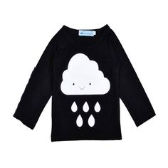 9.63$  Buy here - http://alik09.shopchina.info/go.php?t=32792233003 - 2017 Direct Selling Bobo Choses Fashion Style Baby Spring Fall Top Clound Pattern T-shirt Sleeve Kids Cartoon Undershirts 0-4y 9.63$ #magazineonline