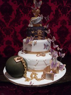 Sheree's Independence Cake by Karen Portaleo/ Highland Bakery, via Flickr