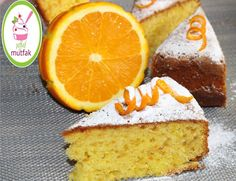 Nefis Portakallı Kek/Portakal Püresi İle