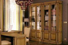 Книжный шкаф для библиотеки Верди 4 П196.Н4Д8