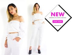 When you're dreaming of a white Christmas!  Take 20% off this weekend only with code BFCM16 for Black Friday weekend and score these stunning white outfits! Brand new Oriana Off Shoulder Crop & Laura Pinstripe Trousers are up for grabs!  Enter code BFCM16 at www.peepb.com to redeem! . . . #peepboutique #peepb #shoppingroll #ootd #outfit #looks #lookbook #whiteout #whiteoutfit #allwhite #blackfriday #malaysiaonlineshop #onlineshopmalaysia #igmalaysia #igmy #ootdmalaysia
