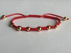 Details about Unisex Fashion Charming Lucky Red String Braided Adjustable Shamballa Bracelet Simple Bracelets, Braided Bracelets, Handmade Bracelets, Friendship Bracelets, Handmade Jewelry, Diy Bracelets With String, Diamond Bracelets, Bracelet Crafts, Unisex Fashion