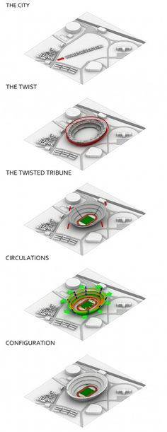 'The Twist': Tokyo Olympic Stadium Competition Entry / MenoMenoPiu Architects + FHF Architectes