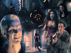 """Episodic art for BtVS 2x09 """"What's My Line 1"""". Part of my project to illustrate every episode of Buffy the Vampire Slayer. Please, do not repost, modify or cut, it is not a source for banners, avat..."""