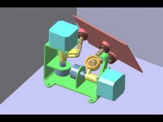 2-Axis mirror mechanism - YouTube