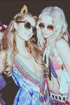 Paris Hilton Coachella Festival