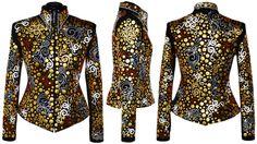 Rustic Shine Western Show Jacket  #WesternShowClothing #WesternShowClothes #CustomShowClothing