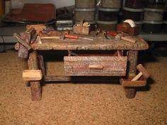 Foro de Belenismo - Miniaturas, detalles y complementos -> banco carpintero