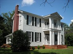 This house, built in the 1830's, was the home of Alabama's First Civil War Governor, Andrew Barry Moore. It is located on the north side of Green Street approximately 0.6 mile west of the Perry County Courthouse (GPS coordinates N32.634778,W87.329083).   This house is included in Marion's Green Street Historic District listed on the National Register of Historic Places.