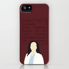 Greys+Anatomy:+Cristina+Yang+iPhone+&+iPod+Case+by+Holly+Ent+-+$35.00