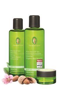 Mandelöl bio. Aloe Vera Öl bio. Sheabutter bio. Base Oil. PRIMAVERA. #primaveralife #primavera #aromatherapie #BioOilWrap