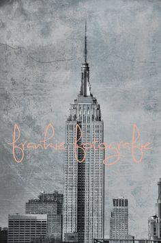 Empire State BuildingNew York City by FrankieFotografie on Etsy, $10.00