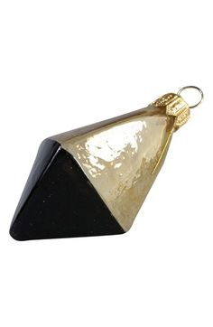 Nordstrom at Home Nordstrom at Home 'Two Tone Gem' Handblown Glass Ornament available at #Nordstrom